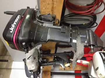Picture of Johnson 15hp two stroke
