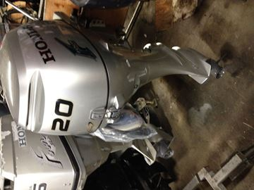 Picture of Honda 20hp four stroke